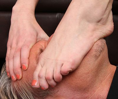 Foot Smothered free